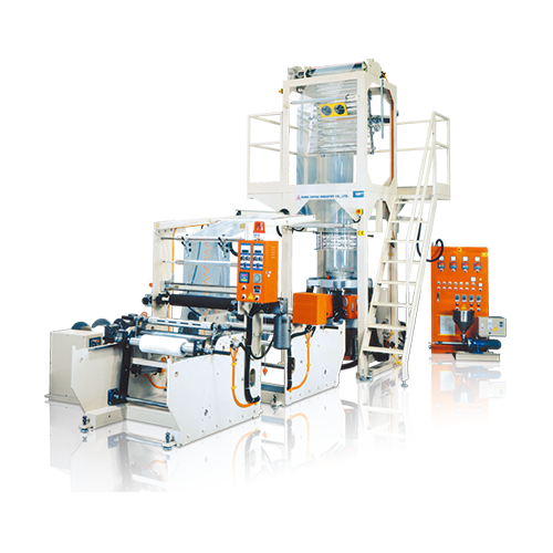 STRETCH FILM LDPE / LLDPE PLASTIC INFALATION MACHINE KML-45S / 55S